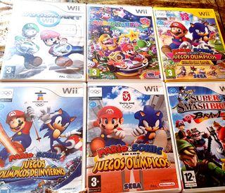 Wii super mario Party 9 Mario Kart Smash Bros