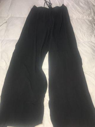 Pantalón ancho gris de Shana talla XXL