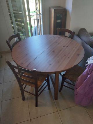 Mesa redonda de comedor