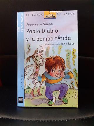 PABLO DIABLO Y LA BOMBA FETIDA LIBRO INFANTIL