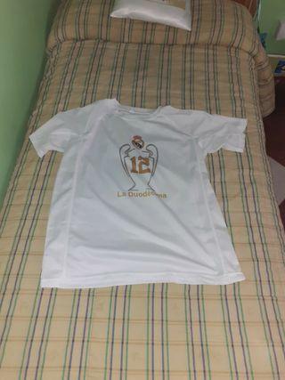 camiseta de manga corta del Real Madrid