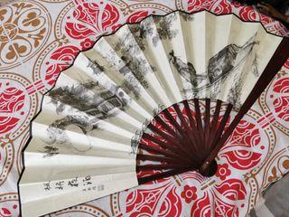 Abanico Chino de bambú
