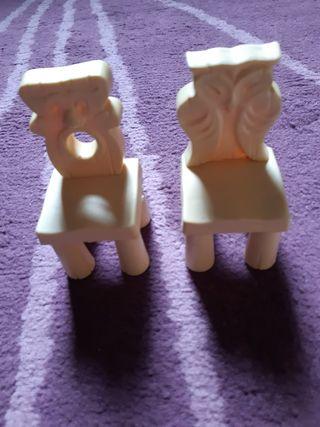 sillas casa 7 enanitos Blancanieves,disney