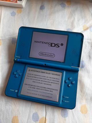 Nintendo DSi XL Azul en perfecto estado