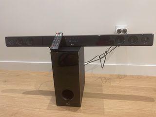Barra de sonido LG 300W