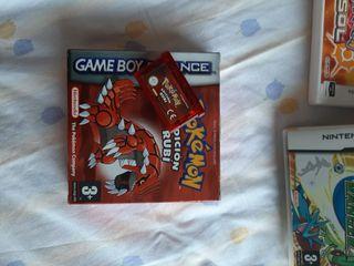 Pokémon Rubi con Caja para Game Boy Advance
