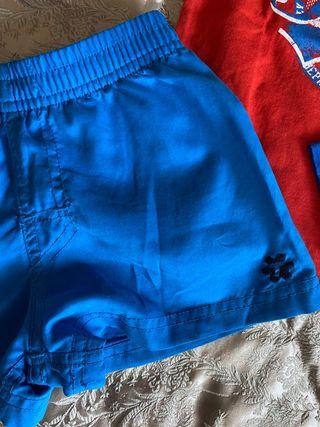 LOTE NIÑ@ 2-3 años CAMISETA THMIND 2A+pantalon cor
