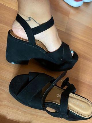 Sandalias de plataforma de Marypaz