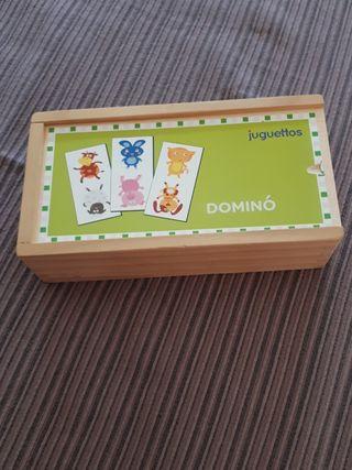 dominó madera juguettos