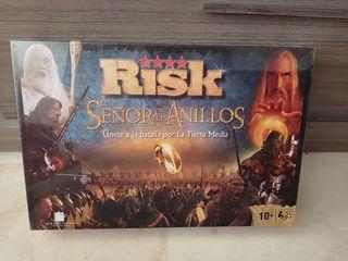 juego mesa Risk, señor de los anillos.