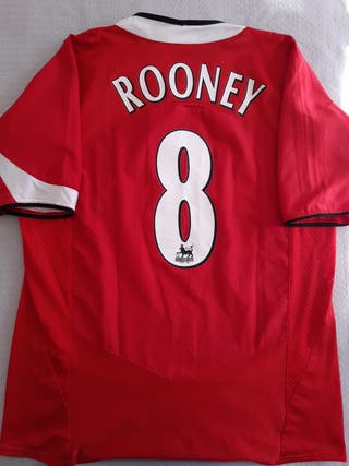 Manchester United 2004-05 Rooney XL camiseta