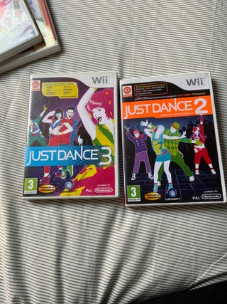 2 videojuegos de Wii