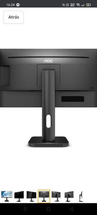 """Monitor AOC 24P1 LED - PC (23.8"""") ¡¡NUEVO!!"""