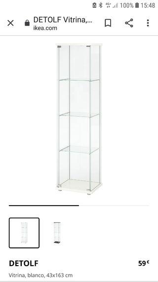 Vitrina expositor DETOLF de IKEA