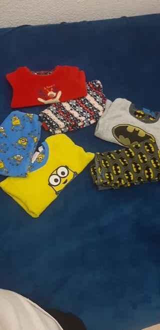 lote pejamas chico