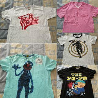 lote camisetas (S) chico
