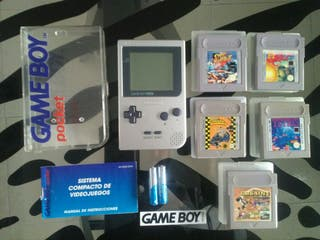 "lote ""Game Boy Pocket silver"""