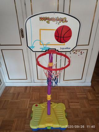 Canasta de basket portátil de niño.