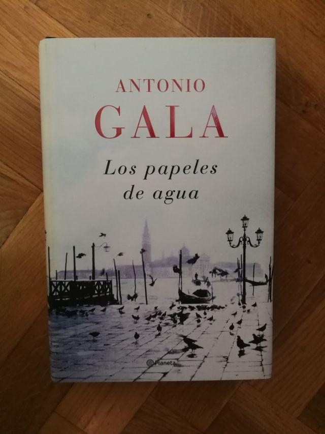 Los papeles del agua - Antonio Gala