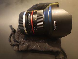 Samyang 12mm f2 para Sony montura E