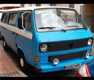 Volkswagen Transporter 1988 camperisada, homologado y cuidado