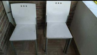 sillas de jardín/balcón