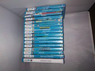 Juegos Wii U Mario, Zelda, coleccionismo.