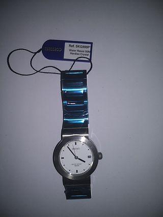 Reloj Seiko vintage acero