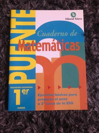 Cuadernillo de matemáticas 1 ESO