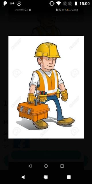 carpintero, montador de muebles