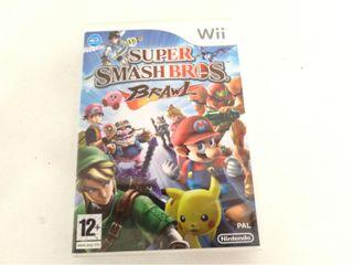 Videojuego Wii Super Mario Smash Bros