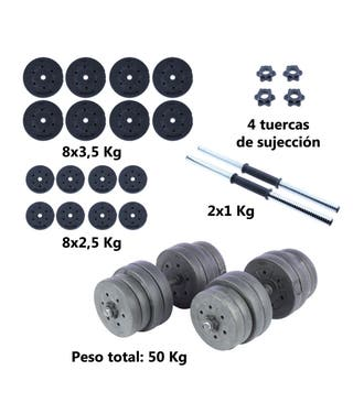 Mancuernas 50kG