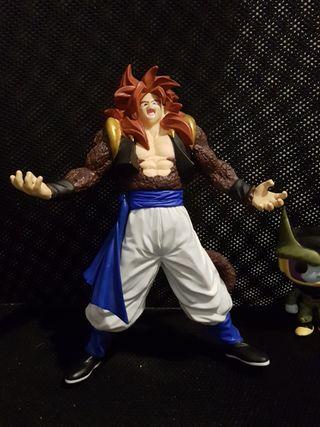 figura de fusion de Goku y Vegeta fase 4