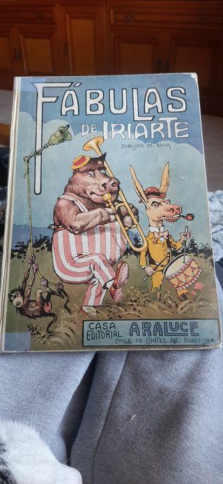 Fábulas de Iriarte primera edición de 1933