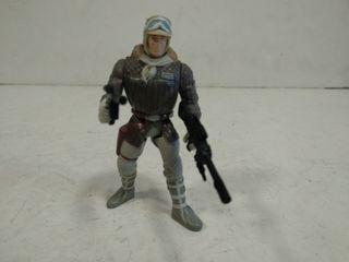 Figura Star Wars HAN SOLO con 2 armas.1995.KENNER