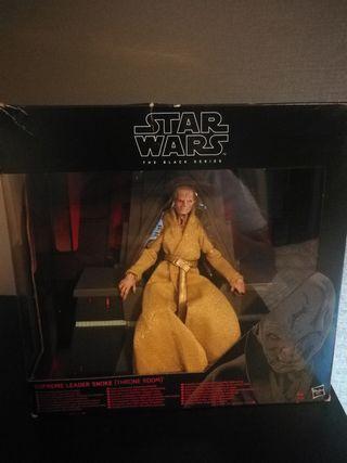 Figura Snoke en el trono Star Wars