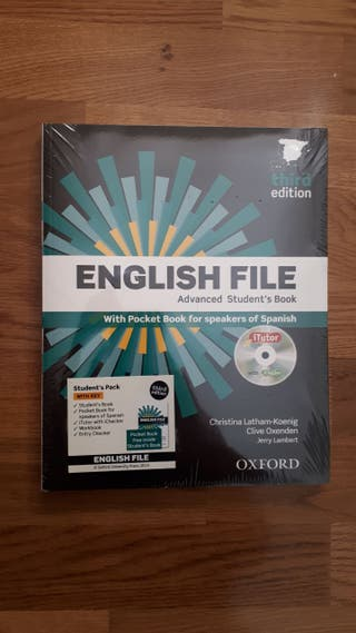Libro English File Nivel Advance