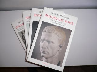 Historia de Roma de Theodor Mommsen