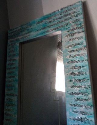 Espejo y cortinas