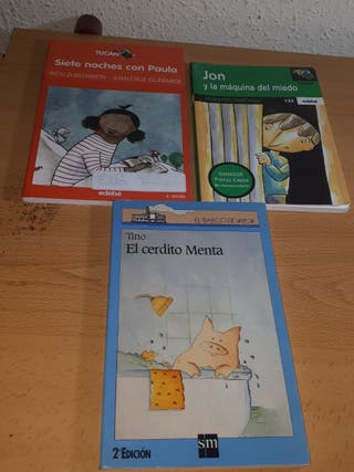 3 libros.