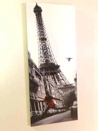 Se vende cuadro madera 60x25cm.