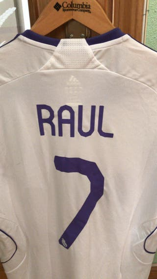Camiseta Real Madrid Raul match