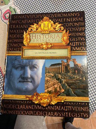 Libro historia universal la antigua roma