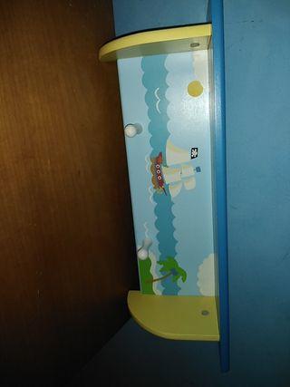 mueble para pared infantil