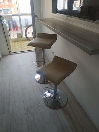 sillas de cocina o bar plegables