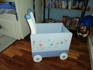 Caja carrito