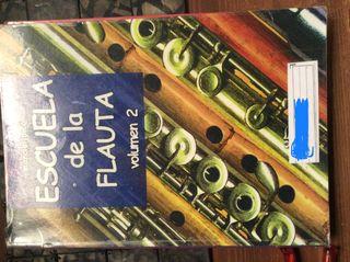 Libro Escuela de la flauta