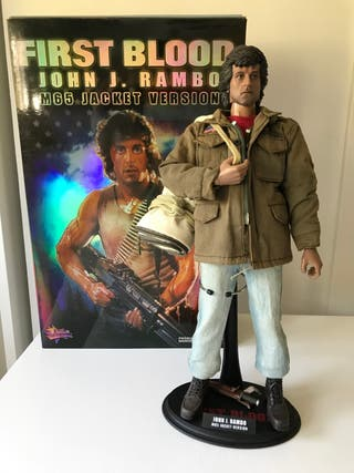 Rambo first blood hot toys