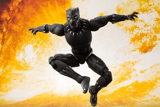 Black Panther Figura Sh Figuarts Bandai Marvel