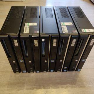 Lote 5 cajas ordenador VACÍAS. URGE!